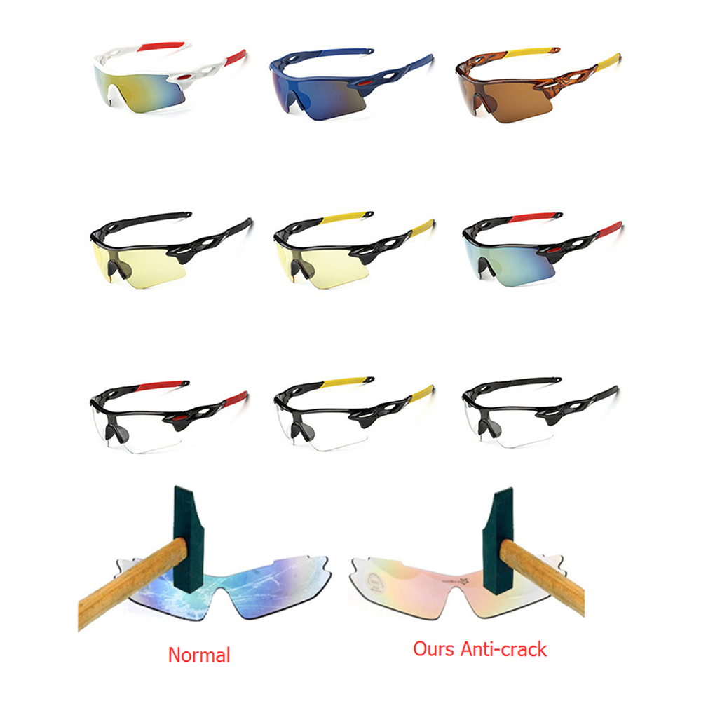 Sports Men Sunglasses Road Cycling Glasses Mountain Bike Bicycle Riding Protection Goggles Eyewear Sun Glasses Riding Goggles ...