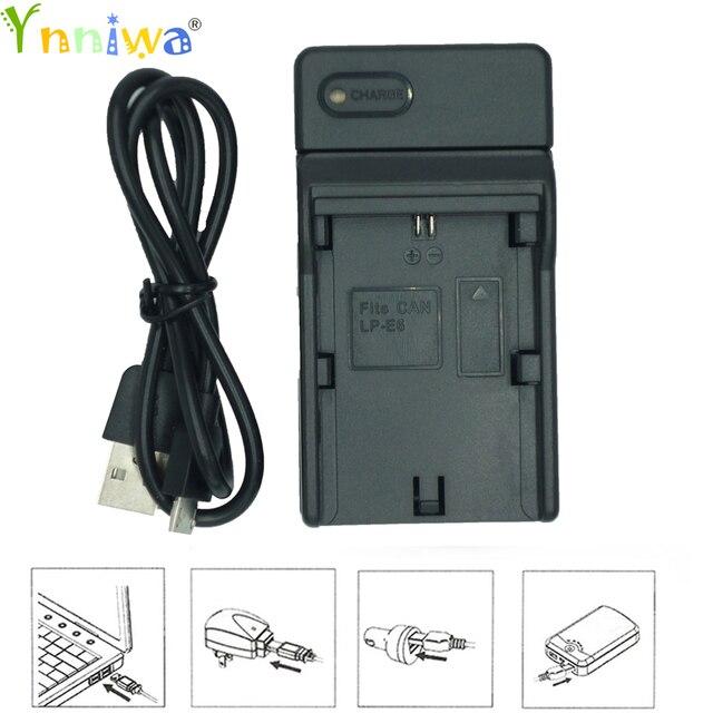 Cổng USB Sạc Pin Máy Ảnh Cho Canon P 511 LP E5 LP E6 LP E8 LP E10 LP E12 LP E17