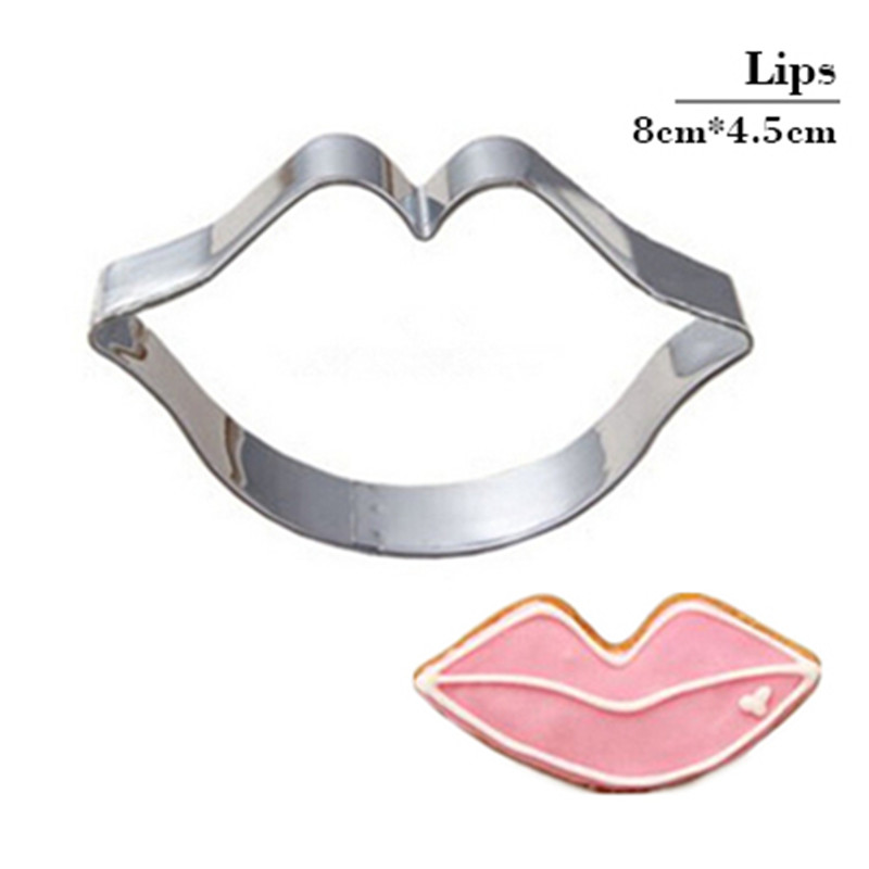 Happy Lipstick Cookie Cutter