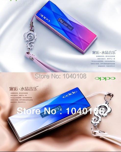 Venta al por mayor alta calidad sólo púrpura azulado Crystal 2 GB reproductor de música MP3 para correr y de ocio