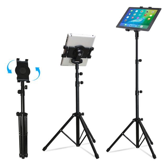 Universal de multi-direção suporte de chão tablet tripé montar titular para 7-10 polegada para ipad 234 mini 123 air 2 samsung lenovo