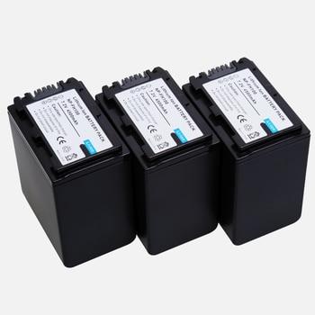 3Pcs/lot 4200mAh NP-FH100 FH100 Camera Battery For SONY HDR-CX12E HDR-CX7E HDR-SR10E HDR-SR12E/SR11E HDR-SR5E HDR-SR7E HDR-SR8E фото