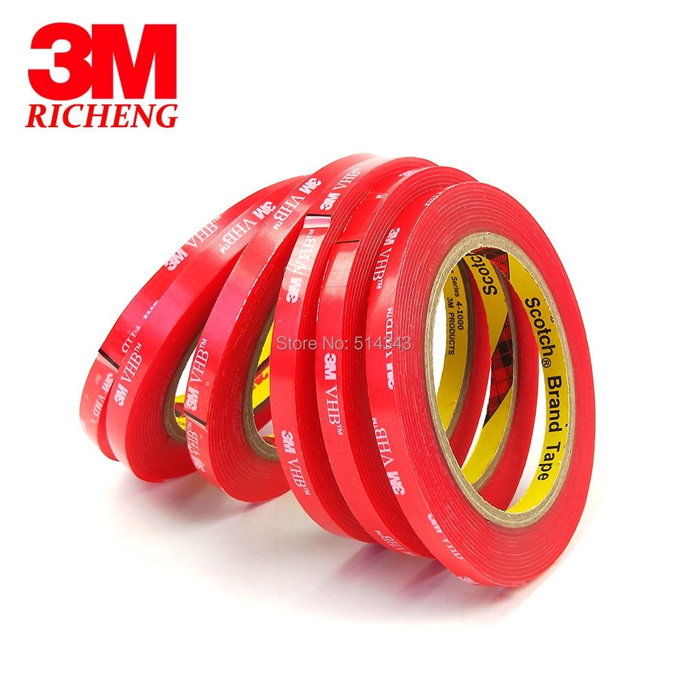 3 M de fita marca 4910 VHB fita dupla face VHB claro e transparente de  acrílico 1mm de espessura de 3 M de fita e7207e5734