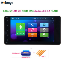 Aoluoya Android 6.0.1 Octa Core Автомагнитола DVD GPS Плеер для Mitsubishi Outlander 2010-2015 Sport L200 Pajero V97 V93 2015 2016