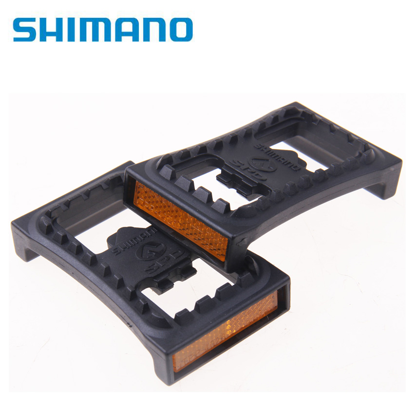 MTB Mountain Bike Shiman SM-PD22 Clipless Flat Pedals SPD Cleats For M520 M540