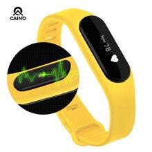Сенсорный Экран Smartband Фитнес Сна Tracker Монитор Сердечного ритма Bluetooth 4.0 горячая Умные «Часы E06 Для IOS Android против mi группа 2