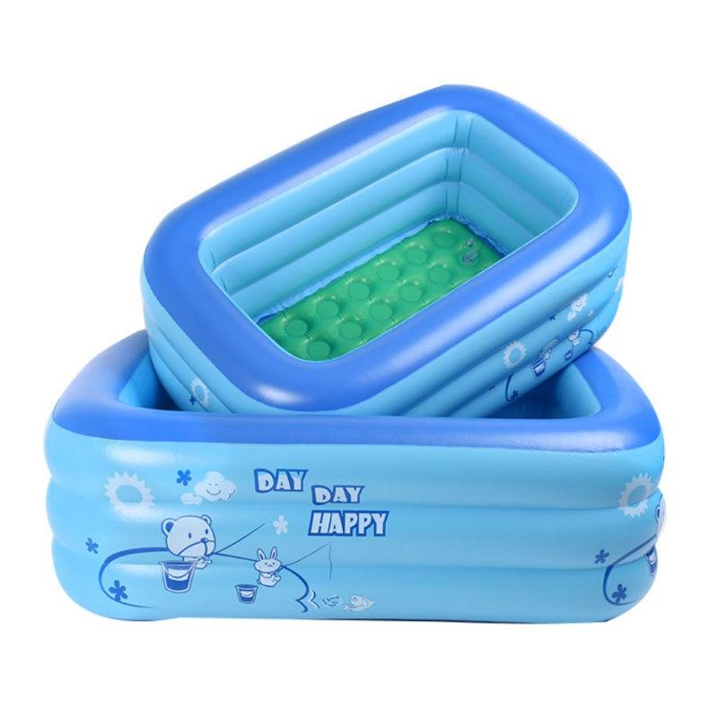 New Baby Swimming Pool Eco-friendly PVC Portable Children Bath Tub Kids Mini-playground Baby Inflatable Pool For Summer