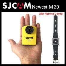 M20 Original SJCAM WiFi Acción Del Deporte Cámara Gyro Mini 30 M Impermeable 2160 P 16MP NTK96660 4 K DV Deportes con Mando a distancia