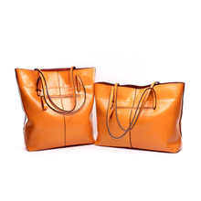 2016 Fashion Genuine Leather Handbags Women High quality Vintage Shoulder Bag Women's Large Tote Bags Casual Leather Bolsos