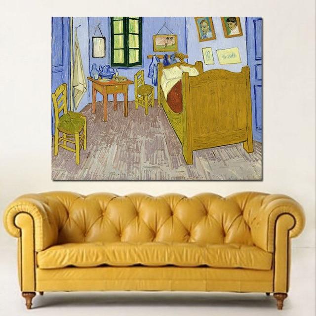 Artisti JQHYART Vincent Van Gogh Camera Da Letto Ad Arles, Canvas ...