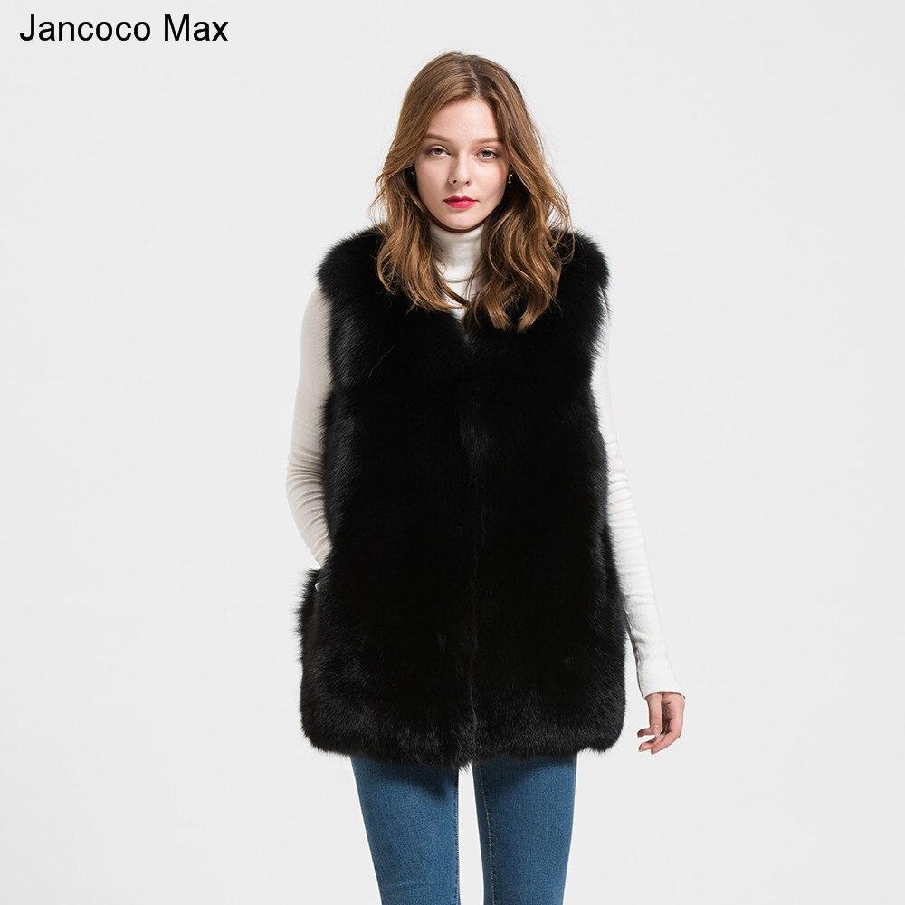Grey Style black De Dames D'hiver Pelt Pleine Renard Qualité Manteau Véritable Femmes Top Gilet Réel S1713 green Mode Fourrure qaqUwvr
