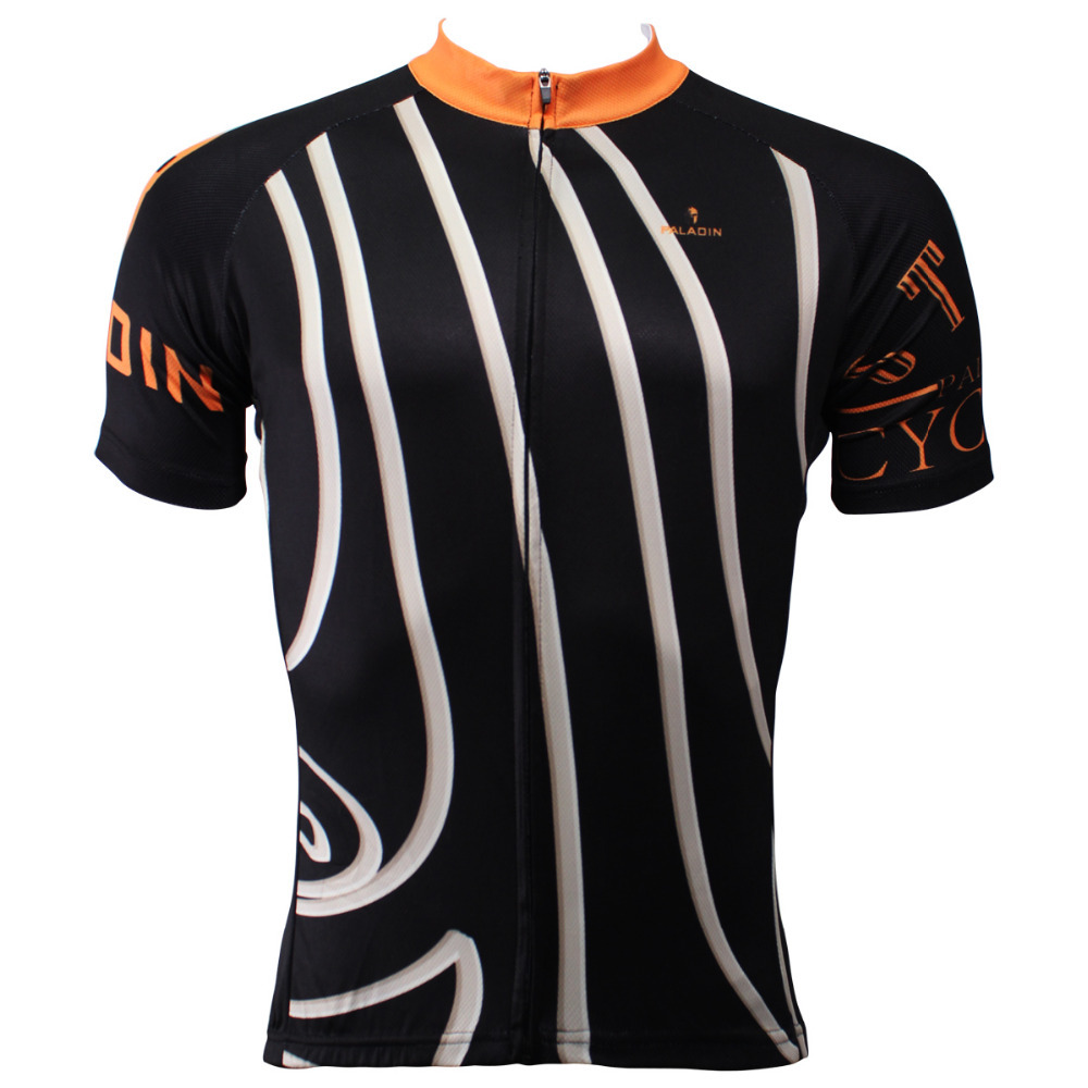 CYCLING JERSEYS Men White Diagonal Stripes top Sleeve Cycling Jersey Breathable bike top Black Cycling Clothes Size S-6XL ILPALA 2016 new men s cycling jerseys top sleeve blue and white waves bicycle shirt white bike top breathable cycling top ilpaladin