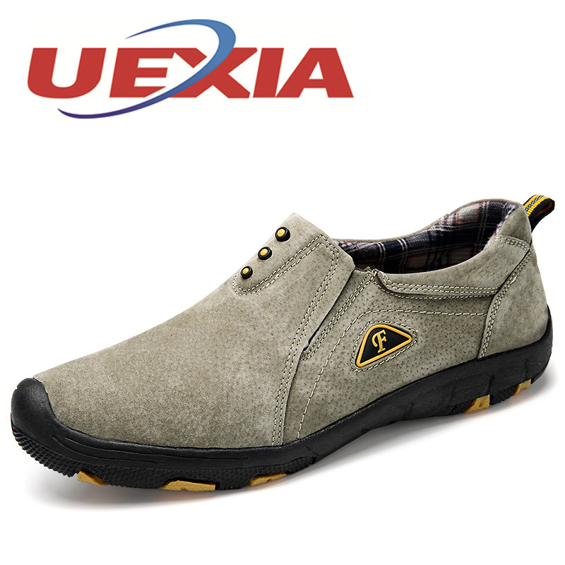 UEXIA Plus Size 45 Outdoor Sport Shoes Men Spring Fashion Slip On Sneakers Men Casual Shoes Autumn Breathable Zapatos Hombres цена и фото