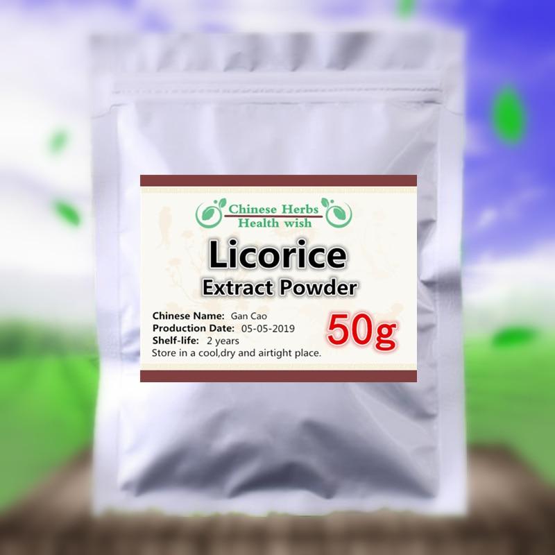 50-1000g,Good Glycyrrhizinic Acid Licorice Root Extract Powder,liquorice/Radix Liquiritiae/liquiritia Glycyrrhiza/gan Cao