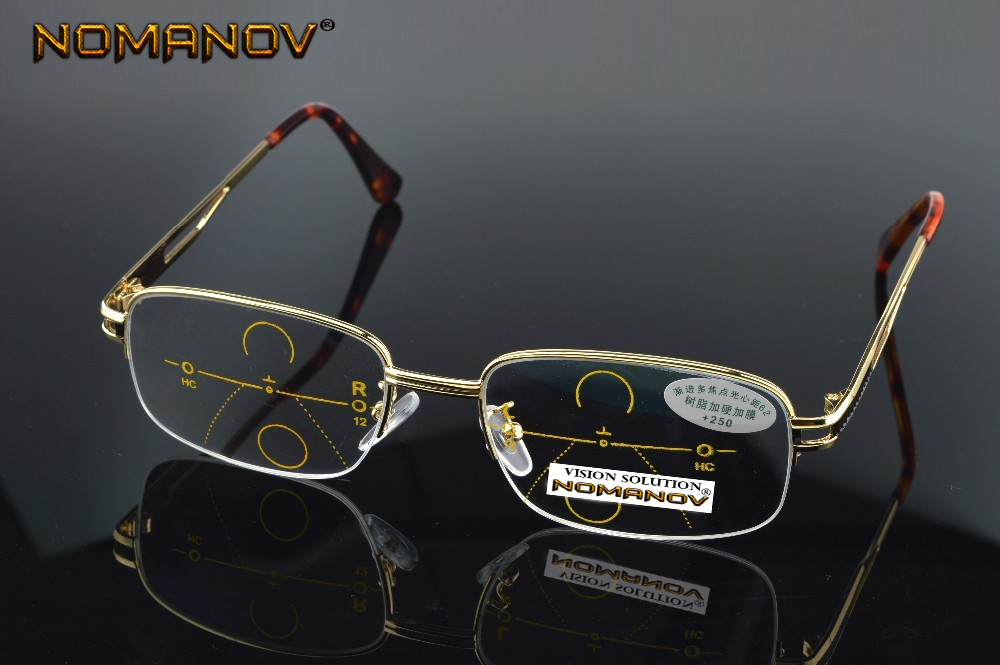 nomanov-brand-progressive-multifocal-reading-glasses-gold-frame-see-near-far-ultra-light-alloy-intel