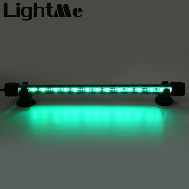28cm Remote Control Colorful 15 LED Aquarium Diving Light Fish Tank Lamp Landscape LED Bulb