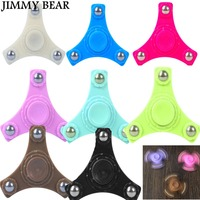 JIMMY BEAR 1 Pcs Fidget Spinner Fidget Stress Fidget Tri Spinner Professional Hand Spinner