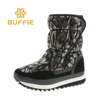 Women boots colourful winter snow shoes nice look shaft plush fur warm style big size popular goods free shipping big size good