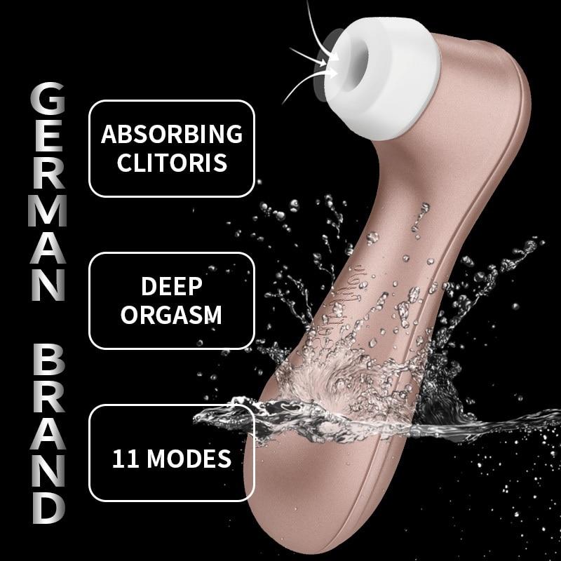 Allemand Satisfyer Pro2 succion vibrateurs G Spot clitoris Stimulation Vibration mamelon ventouse érotique adulte sexe femmes jouets clitoridien