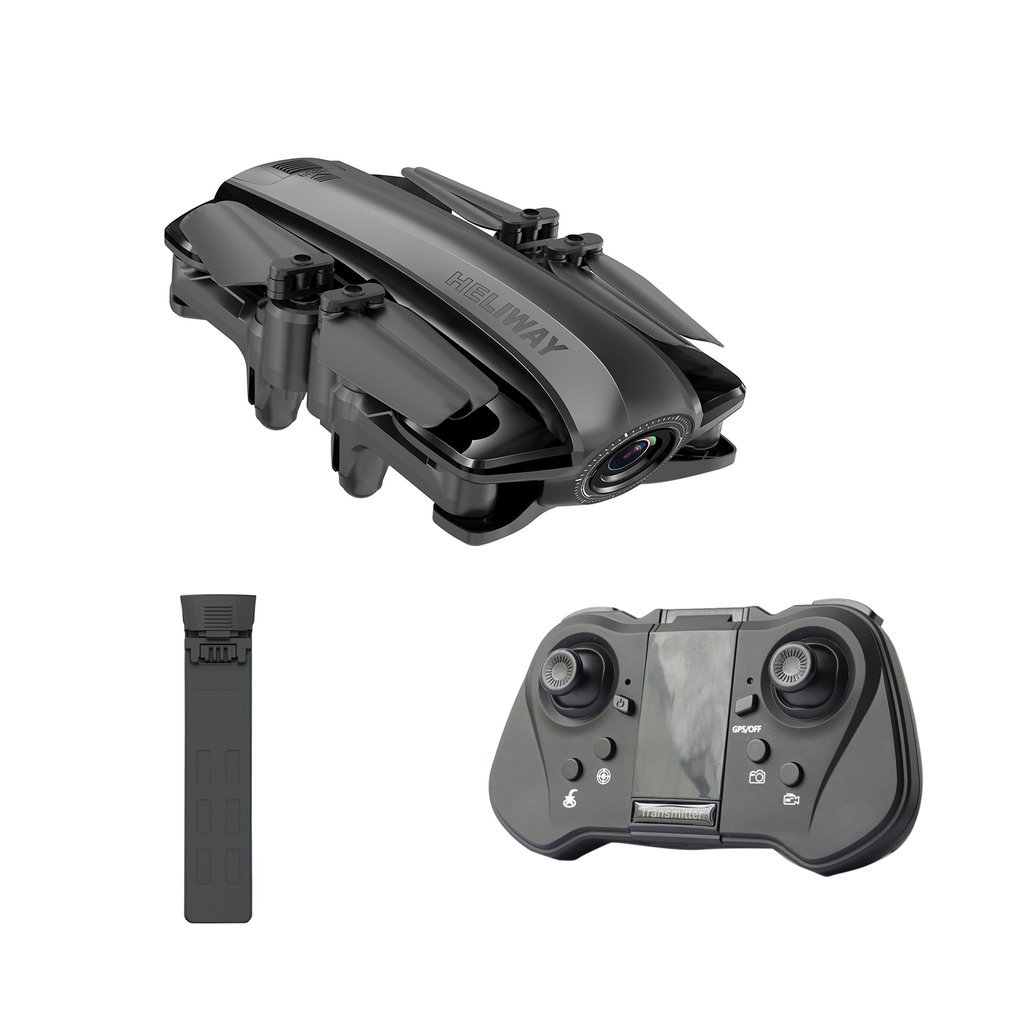 912 Folding Gps <font><b>Drone</b></font> Wind-Resistant Automatic Returning 1080P Aerial Remote Control Four-Axis Aircraft Box image