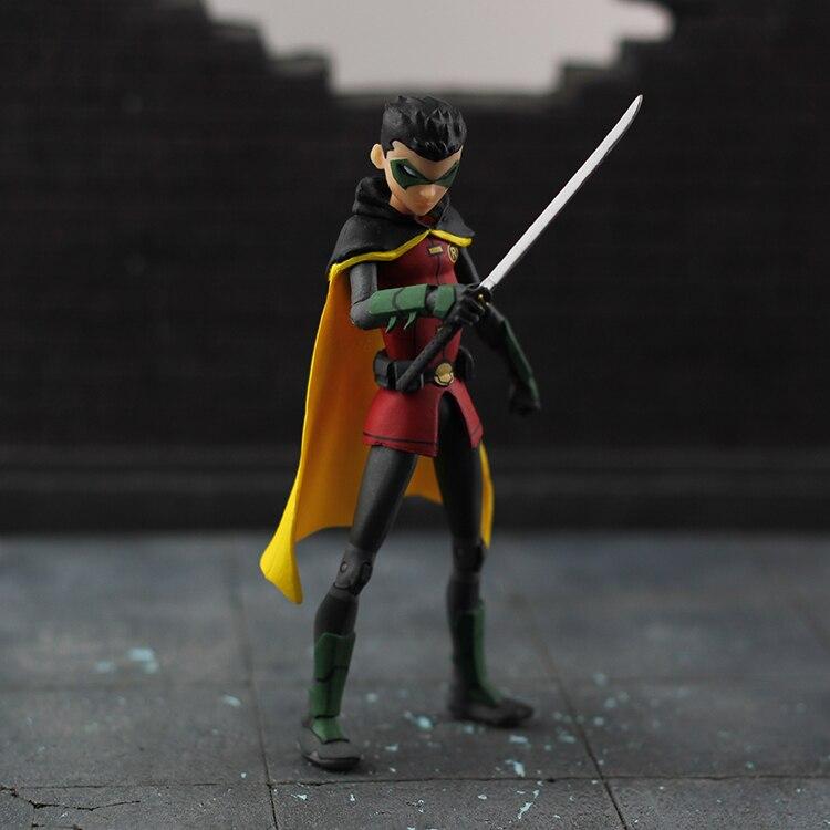 Batman Justice League DC Wayne Enterprise Damian as Robin Loose Action Figure Model damian marley rome