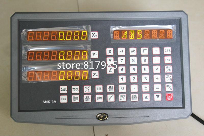 digital readout SNS-3V 3 Axis Digital Display Milling Lathe Machine DRO Suitable for Sino EASSON Ditron Delos linear encoder ams1117 3 3 3 3v sot223
