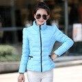 2015 Новая Мода Парки Зимы Женщин Пуховик Короткая Дизайн Пальто Зимнее Пальто Женщины Куртка Куртка Женская Одежда DX440