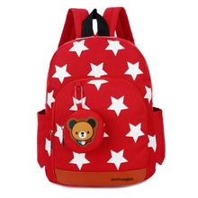 2017 Children Bags for Boys KindergartenNylon School Backpack Fashion Brand Girls Cute Printing Backpacks In Primary