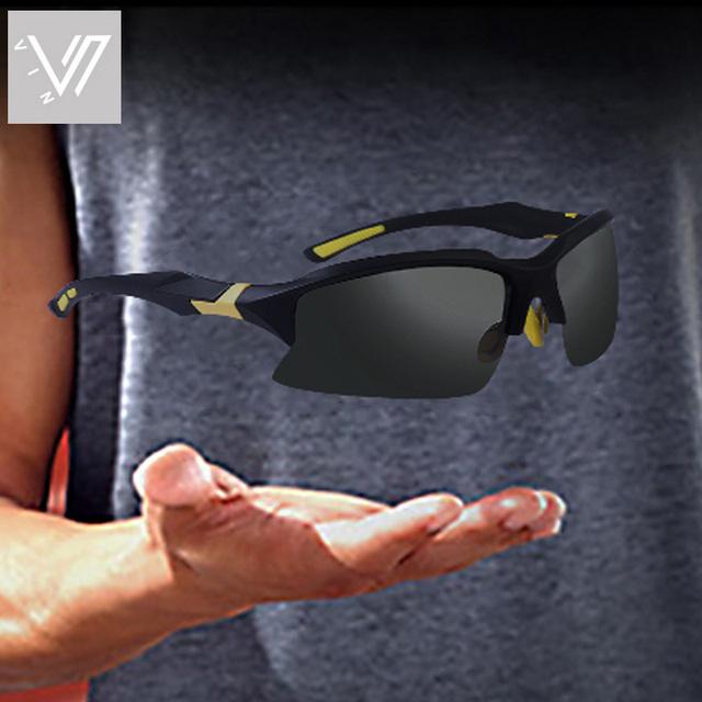 Vin homens's óculos de sol para ciclismo corrida pesca driving golf polarizada óculos De Sol Dos Homens Lentes Gafas Oculos de sol UV400 lunette 20