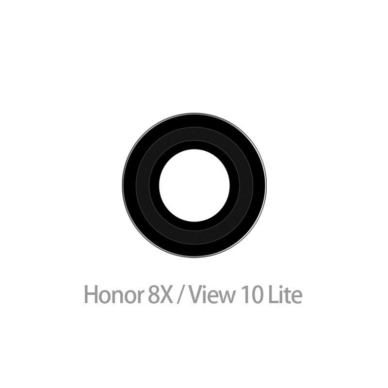 10pcs/lot Back Camera Lens For Huawei Honor 8x Camera Glass Lens With Adhesive Replacement Parts(China)