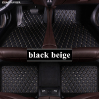 Car Floor Mats Universal for peugeot 5008 307 208 206 408 508 308 3008 301 2008 407 207 sw Car Leather floor mats carpet liner