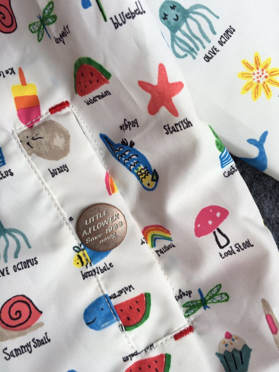 Kids Cartoon Fruit Print Jackets (1)