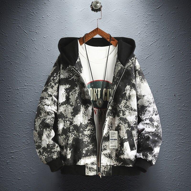 De Capucha Streetwear Militar Sombrero khaki Abrigo Black Los 2019 Con Nuevo Hombre White Hombres Traje Abrigos Cazadoras Chaqueta Chaquetas Camuflaje Casual Para Estilo Y qSx7p5nYp
