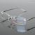 Os Recém-chegados de Negócios Óculos 100% Óculos de titânio puro Óculos sem aro masculino peso leve frame RXable receita 6379 tamanho 55-17-140