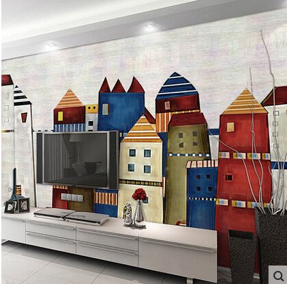 Large Self Adhesive Wall Mural for Living Room Photo Murals Wallpaper 3D Waterproof Sofa TV Background Custom Vinyl Wall Paper custom 3d photo wallpaper mural nordic cartoon animals forests 3d background murals wall paper for chirdlen s room wall paper