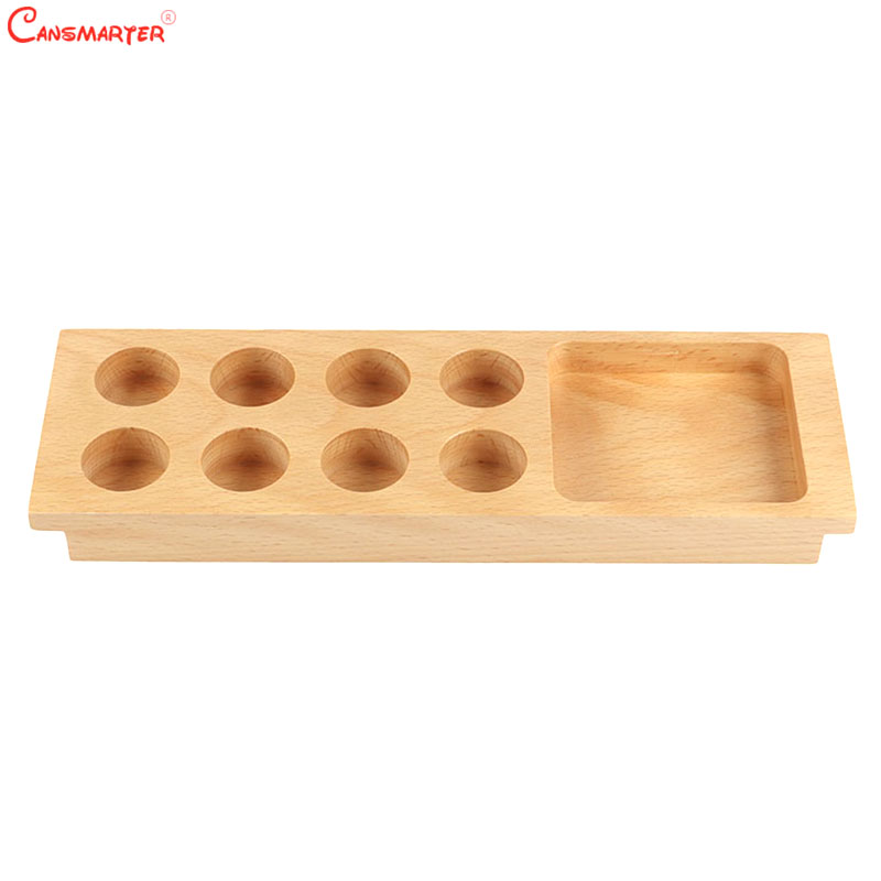 Sensorial Practices Wooden Toys Montessori Tasting Exercise Beech Wooden Preschool Learning Teaching Aids 3-6 Year Game SE027-5