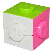 New Arrival 76mm MoYu Wheel of Time Magic Cube Professional Smooth Speed Puzzle Cubes Educational Toy