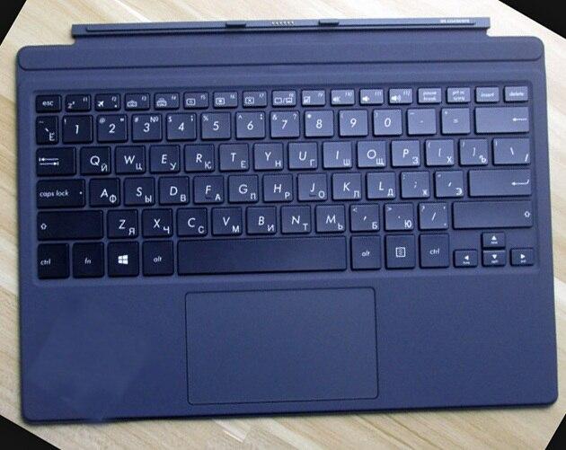 Russian Original Docking Keyboard For ASUS Transformer 3Pro T303U A6200 I5-6200U T305U  12.6 Inch Tablet PC Keyboard