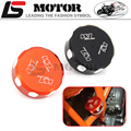 Motorcycle accessories CNC oil pot cover tank caps Rear Brake Reservoir Cover For KTM DUKE 125 200 390 RC200 RC390 2012-2016