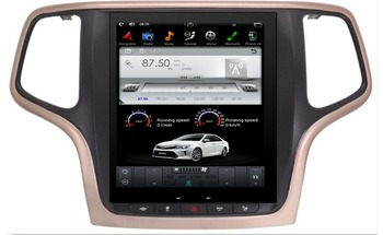 10.4 inch Vertical Screen Tesla Style Android 7.1 Car DVD GPS Player for Jeep Grand Cherokee 2012 2013 2014 2015 2016 2017 2018