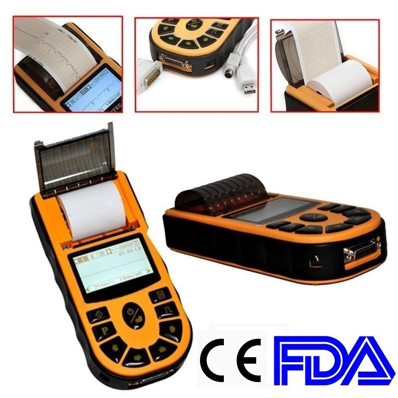 CONTEC CE,HandHeld Digital Single Channel ECG Electrocardiograph +Free Software,ECG80A promise china ecg supplier single channel electrocardiograph with software pro ecg01g
