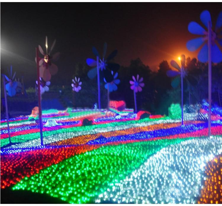 6mx4m 672 Led Outdoor Net Lights Christmas Xmas Fairy String Holiday Wedding Party Decoration Ac 110v 220v Us Eu Uk Au Plug In From