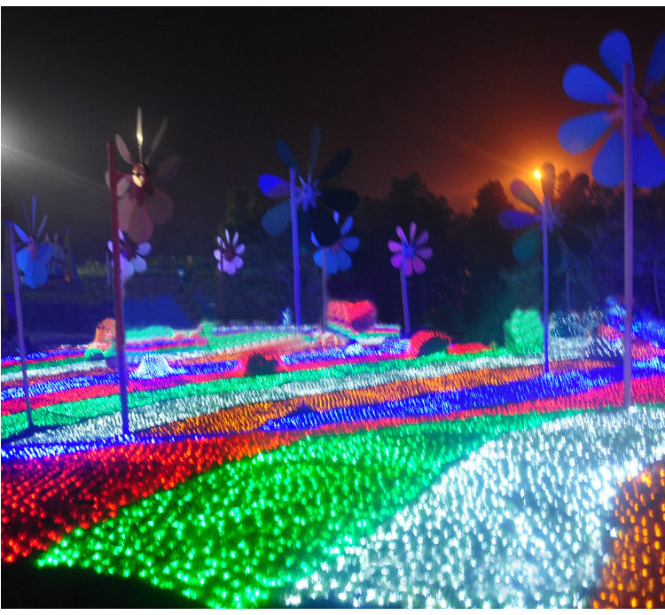 Net Lighting For Outdoors: 6Mx4M 672 LED Outdoor Net Lights Christmas Xmas Fairy String Holiday  Wedding Party Decoration AC 110V,Lighting