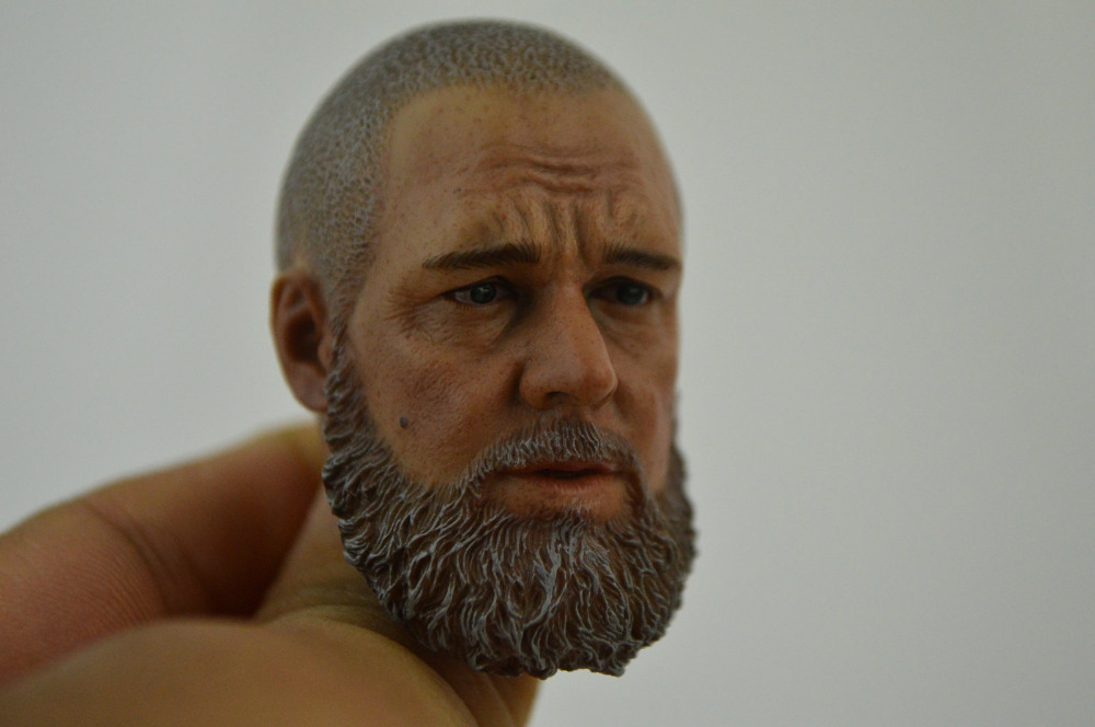Custom 1/6 Scale Head Sculpt For Hot Toys Figure Body FREE SHIP 2015 for 12