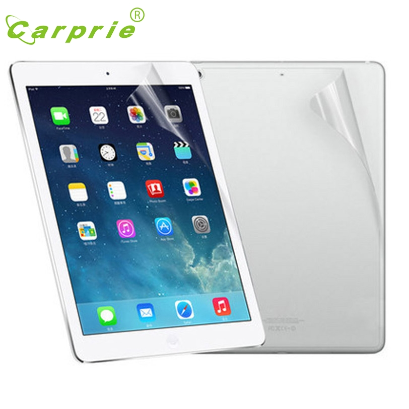 CARPRIE Screen Protection For Ipad Mini 1 2 3 Front And Back Clear Film LCD Feb3 MotherLander