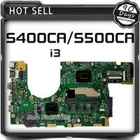 Para ASUS S400C S400CA S500C S500CA REV3.1 60NB0060-MBF000 69N0NUM1EA00 i3 CPU Del Ordenador Portátil Tarjeta de la Placa Base Placa Base Placa Principal