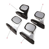 Universal 360R Car Clear View Mirror Car Rearview Mirror Car Interior Outside Blind Spot Mirror Angle