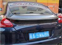 Carbon Fiber CAR REAR WING TRUNK SPOILER FOR Porsche Panamera 970 2009 2010 2011 2012 2013