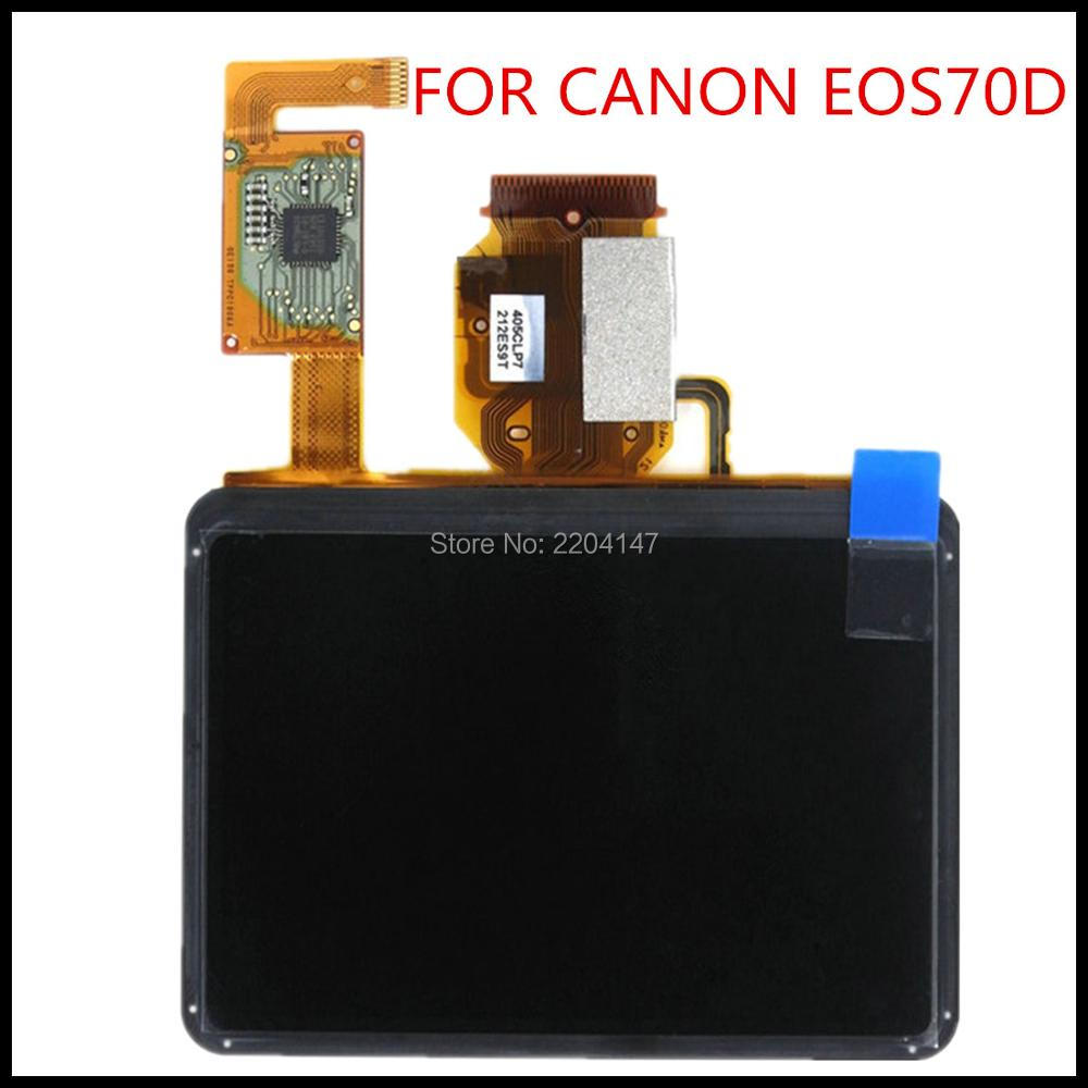 New LCD Display Screen For Canon EOS 70D DS126411 SLR camera With touch and backlight and