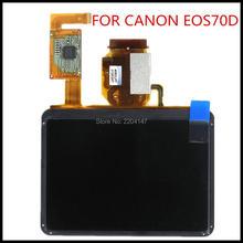 Новый ЖК-дисплей Экран дисплея для Canon EOS 70D; DS126411 зеркальные фотокамеры с сенсорным и подсветкой и внешний экран